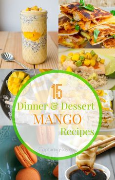 Man food recipe round up fathers day edition all the best 15 dinner and dessert mango recipes forumfinder Gallery