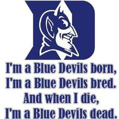 Did all my homework! Watched all of the bracketology shows analyze the teams and I picked a decent bracket but I had to put duke as my winning team. Because against all odds and all of the data..you gotta believe your team will make it. I bleed blue!