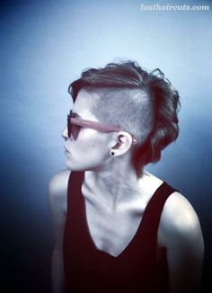 45 Superchic Shaved Hairstyles for Women in 2016  #ShortHaircuts