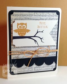 One of the cards from the boxed drawer gift set using the StampTV Kit, Grateful Heart.