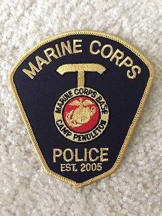 California-Marine-Corps-Camp-Pendleton-Police-Patch