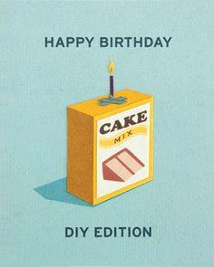 Clever #DIY Birthday Card