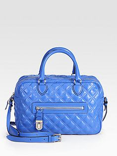 Marc Jacobs Manhattan Quilted Satchel