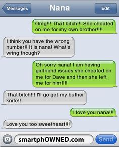Page 7 - Relationships - Autocorrect Fails and Funny Text Messages - SmartphOWNED