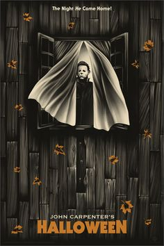 """""""The Night HE Came Home!"""" Halloween fan poster is watching Best Horror Movies, Classic Horror Movies, Horror Icons, Horror Movie Posters, Halloween Poster, Halloween Movies, Halloween 2019, Halloween Horror, Zombie Movies"""