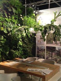 #SMAdd: #Copijn introduceert Wonderbranch. Een zwevende tak met (hang)planten. Ideaal in kantoortuinen