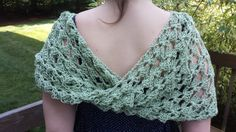 Shawl Shrug Infinity Scarf Crocheted by softtotouch on Etsy