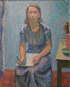 Sam Vanni: Portrait of Tove Jansson, 1940.