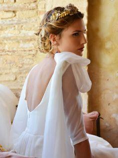 Maravillosa la colección de vestidos de novia 2014 de la firma Pol Nuñez.