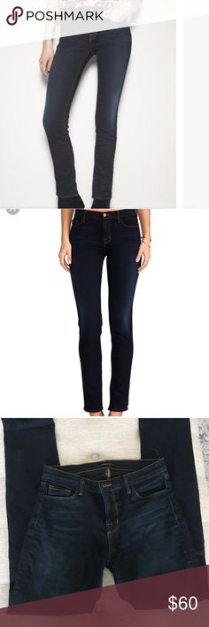 J Brand Jeans Atlantis J Brand skinny Atlantis jeans. Rolled them up and wore once and just too big for me. Great jeans. Thanks! J Brand Jeans