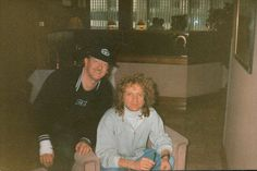 Pete with Lou Gramm   by babypoosticks