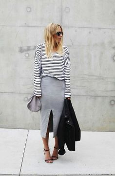 Obsessed with stripes and this combination!