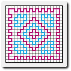 Wiggly Rug pattern