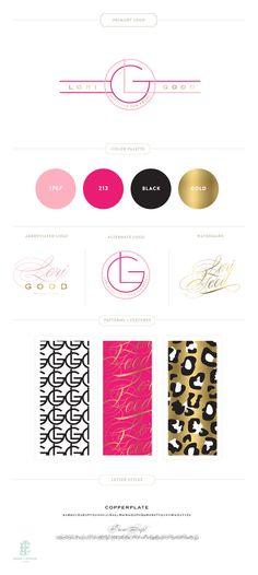 Lori Good Marketing Design by Emily McCarthy Web Design, Blog Design, Graphic Design Branding, Brand Identity Design, Typography Design, Business Branding, Web Business, Branding Kit, Branding Ideas