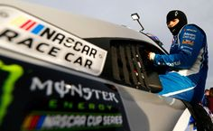 Danica Patrick Photos Photos - Danica Patrick, driver of the #10 Aspen Dental Ford, climbs into her car during qualifying for the Monster Energy NASCAR Cup Series Kobalt 400 at Las Vegas Motor Speedway on March 10, 2017 in Las Vegas, Nevada. - Las Vegas Motor Speedway - Day 1