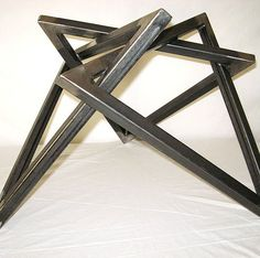 Smith Mountain MetalWorks / Mid Century / Modern Fabrication U.S.A. Hairpin  Legs,Table Bases,