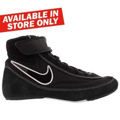 667bc91a0f9 Nike Speedsweep VII Boxing Wrestling Shoes - Black