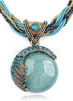 Blue Boho Pendant - Latest Jewelry Fashion Items | Fashionable Housewives of USA