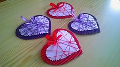 srdce Valentine Heart, Valentines Day, Art For Kids, Crafts For Kids, 8 Martie, Mom Day, Mothers Day Crafts, Diy Paper, Kids And Parenting