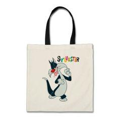 Sylvester Paw Up. Producto disponible en tienda Zazzle. Accesorios, moda. Product available in Zazzle store. Fashion Accessories. Regalos, Gifts. #bolso #bag #LooneyTunes