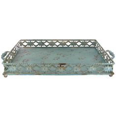 Get Rustic Metal Tray with Decorative Sides online or find other Trays products from HobbyLobby.com