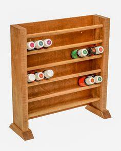 Displays para frascos de óleos essenciais.