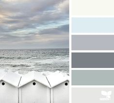 soothing colors of the beach