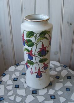 vintage Mount Clemens Pottery ceramic vase by lookonmytreasures, $39.00