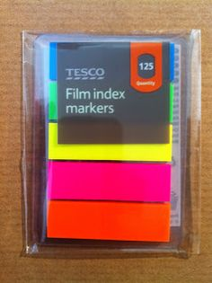My Life All in One Place: Bargain Filofax Post-It tabs and a hack to go with them