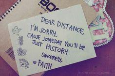 Faith over Distance