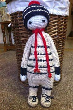lalylala mod made by Sandrine C. / based on a lalylala crochet pattern
