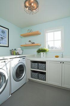 laundry room | Blend Interior Design