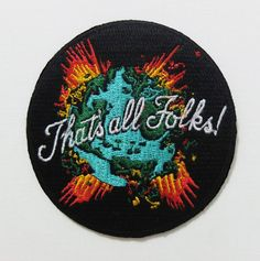 'That's All Folks' Patch
