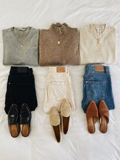 Simple Fall Outfits, Fall Winter Outfits, Autumn Winter Fashion, Casual Outfits, Flannel Outfits, Casual Fall, Minimalist Wardrobe, Minimalist Fashion, Mode Outfits