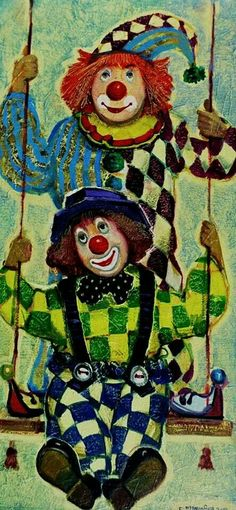 Lado Tevdoradze. ლადო თევდორაძე Le Clown, Circus Clown, Pierrot, Laugh Now Cry Later, Carnival Crafts, Clown Paintings, Send In The Clowns, Circus Performers, Clowning Around