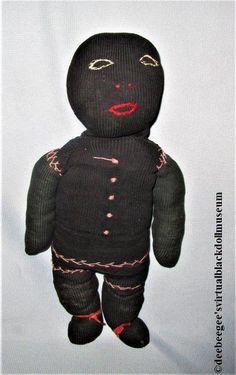 Antique Sock Doll – DeeBeeGee's Virtual Black Doll Museum™