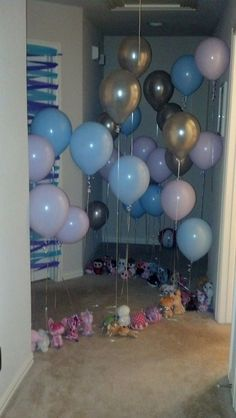 Do before she wakes up in her room Pazelys GOLDEN birthday