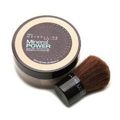 Maybelline Mineral Power Powder Foundation, Classic Ivory, Light 2 || Skin Deep® Cosmetics Database | EWG