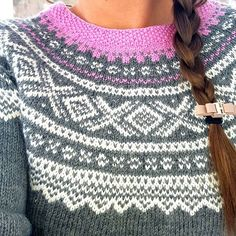 Nordic Design, Norway, Knits, Crochet Top, Macrame, Patterns, Knitting, Outfits, Tops