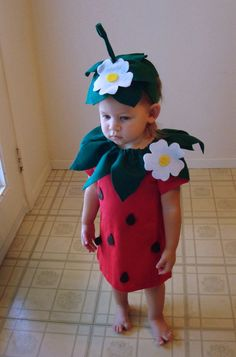 Uncut burda 4370 kids very easy sew kids vegetable costume pattern kids diy strawberry do it yourself kids costume halloween costume strawberry costume solutioingenieria Image collections