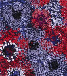 Buttercream™ Poppy Collection Cotton Fabric-Tiny Floral