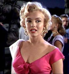 """Marilyn Monroe in the movie """"Niagara"""" directed by Henry Hathaway."""