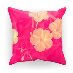 Flowers Pink Cushion