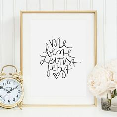 """""""The best time is now"""" for a new handlettering poster by Tales by Jen! - Handlettering - The Dallas Media Poster Ads, Poster Prints, Typo Poster, Brush Lettering, Hand Lettering, Plotter Silhouette Cameo, Calligraphy Words, Poster Design Inspiration, Motivational Phrases"""