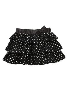 Gap | Polkadot tiered ruffle skirt