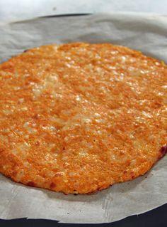 Carrot Crust Pizza