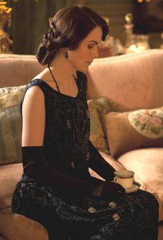 Michelle Dockery in the third season of Downton Abbey