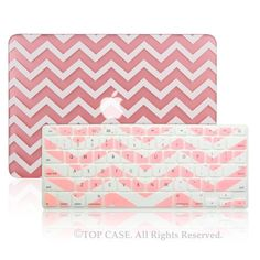 "TopCase Newly Designed 2 in 1 - Chevron Series Ultra Slim Light Weight Hard Case Cover Plus Matching Color Chevron Zig-Zag Keyboard Cover Skin for Apple MacBook Pro 13.3"" with Retina Display Model: A1425 and A1502 (NEWEST VERSION 2013) - with TopCase Chevron Mouse Pad (Macbook Pro 13"" w/Retina Display: A1425/A1502, Pink) TOP CASE http://www.amazon.com/dp/B00JVYUT98/ref=cm_sw_r_pi_dp_vlKOtb1FZAWQSV97"