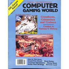 Cover Print of Computer Gaming World, March 1989 | $6.60