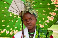 Woman in green (DR Congo)